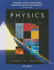 Study Guide and Selected Solutions Manual for Physics, Volume 2 Vol. 2 by David…