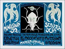 Dinosaur Jr Poster Jay Mascis Original Signed Silkscreen by Gary Houston 20