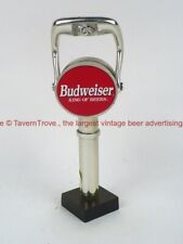 1990s Budweiser 8½ inch Chrome Tap Handle TavernTrove