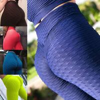 Women's Hip Push Up Yoga Pants Sports Fitness Running Gym Leggings Trousers G109
