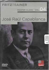 MASTER CLASS - Capablanca Vol 4 Chess DVD Fritztrainer New Sealed