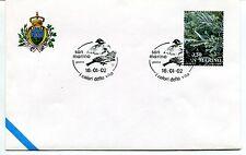 2002-01-16 San Marino I colori della vita ANNULLO SPECIALE Cover