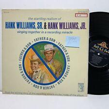 Hank Williams Jr & Sr Singing Together Recording Miracle- MGM 4276 VG+