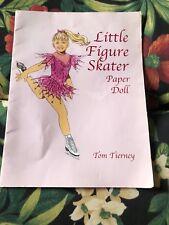 Little Figure Skater Paper Doll Book Tom Tierney Uncut