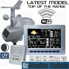 OZWeather™ Solar Powered Weather Station with Colour LED Display