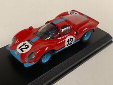 1/43 Art Model Ferrari Dino  206/S  Car #12 1966 Spa Francorchamp   ART127. D182