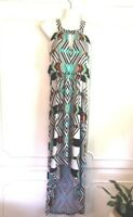 Trendmakers Black And White Maxi Dress Size Small