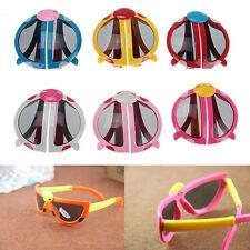 Creative Baby Kids Boy Girls Foldable Cute ladybug UV400 Sunglasses Goggles Gift
