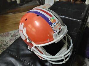 Schutt Clemson Ohio State Discover Orange Bowl Football Helmet Replica Full Size