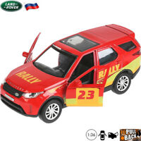 Diecast Car Scale 1:36 Land Rover Discovery Sport Russian Model Cars