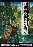 NEW' How to Draw Manga Anime Fantasy Background Technical Book /Japan art
