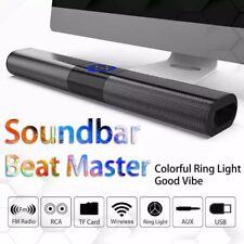 Wireless Bluetooth 5.0 Soundbar Hifi Subwoofer Speaker Home Theater Computer Usa