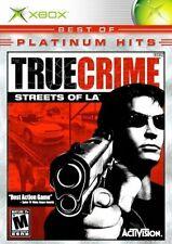 Xbox: True Crime: Streets of LA (Microsoft Xbox, 2003)