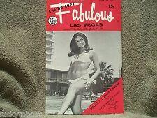Fabulous Las Vegas Magazine Patti Page Wayne Newton Perry Como 7/22/1972