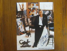 TONY CURTIS (Died-2010)Some Like it Hot/The Defiant Ones)Signed 8X10 Color Photo