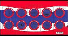Thailand 2007 Regions/Seals/Coats-of-Arms/Elephant/Temples/Rabbit 10v sht n37413