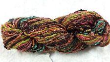 Noro Odori #15 Orange Pink & Mustard Tones 100g Silk Angora Wool Mohair