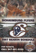 2007 Schaumburg Flyers Minor League Baseball Pocket Schedule