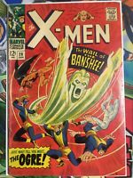 X-Men #28 FN- First appearance of Banshee  Great Silver age