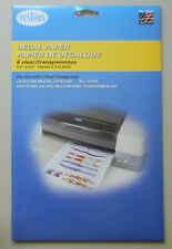 6 PK CLEAR DECAL PAPER TESTORS MODELING ACCESSORY