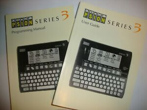 Psion 3 Manual/User Guide AND Programming Manual