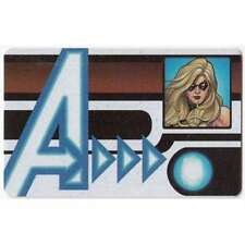 Nick Fury Agent of S.H.I.E.L.D ID Card #003 Ms. Marvel (U)
