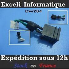 Connecteur Dc power jack socket cable wire DW204 Toshiba Qosmio  F45-AV412