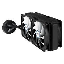 ARCTIC LIQUIDO Congelatore 240 CPU Water Cooler per Intel + AMD 4 x F12 PWM VENTILATORI PST