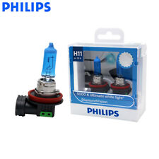 PHILIPS H8/H9/H11 12V 35W Diamond Vision 5000K White Halogen Fog Bulb Light