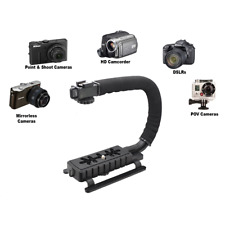 Video Camera Stabilizer Shoe Mount Handle Grip Rig Canon Nikon Dslr T7i t6i