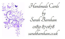 260 Personalised Labels Lilac Butterfly design / Address / Lilac Butterfly