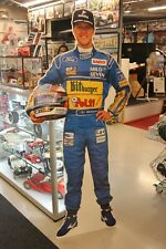 Cardboard Figurine Michael Schumacher Mild Seven Benetton F1 (height 180 cm)