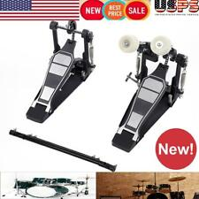 High quality Drums Pedal Double Bass Dual Foot Kick Percussion Drum Set USA
