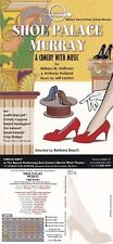 SHOE PALACE MURRAY A COMEDY MUSIC PERFORMANCE UNUSED COLOUR ADVERTISING POSTCARD