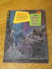 Mystery Comics Digest # 22 March 1975 - Gold Key - Ripley's Believe It Or Not  K