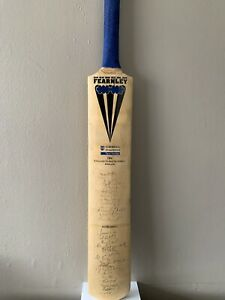 England & South Africa Signed Cricket Teams 1998 Test Series Full Size Bat