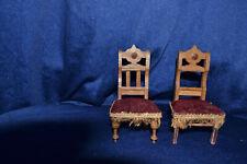 antiker Stuhl für die Puppenstube Puppenküche Puppenmöbel Wohnzimmer Stühle