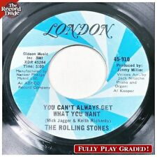 ROLLING STONES Can't Get What You Want LONDON british invasion rock Hear! 45
