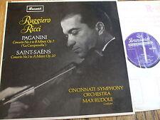 SXA 4529 Paganini / Saint-Saens Violin Concertos / Ricci