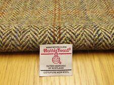 Harris Tweed Brown Herringbone vestige à-côté - 33 cm x 44 cm avec étiquette