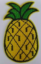Pineapple Fruit Iron on transfer Patch Brand New Sew on Patch fancy dress