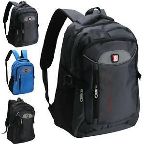 Waterproof Mens Boys Laptop Backpack Rucksack Outdoor Travel School Bag