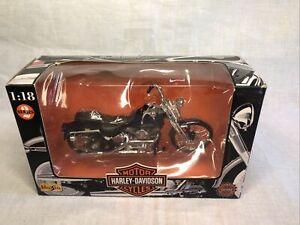 MAISTO Harley Davidson 1:18-1997 FXSTS Springer Softail-New In Box-#121222