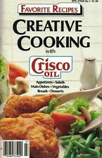 Creative Cooking with CRISCO OIL Small Cookbook Favorite Recipes #7 1986