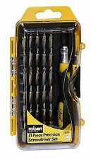 28290 Rolson Tools 31pc Precision Screwdriver Set