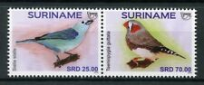 Suriname 2018 MNH UPAEP Pets Birds Finches 2v Set Stamps