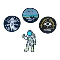 I Want To Leave UFO Patches Astronaut Patch Trust No One Patch Embroidered