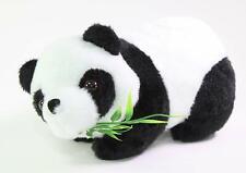 "7"" Cute Panda Eating Bamboo Stuffed Plush Animal Toy Birthday Gift USA Seller"