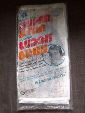 Vintage 1976 MLB Lot of 40 Super Star Lunch Bags - Catfish Hunter, Bench, Rose +