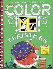 Mary Engelbreit's Color Me Christmas Coloring Book with 48 Images to Color-New!